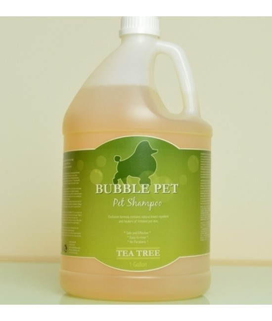 Bubble Pet Shampoo - Tea Tree  茶樹冲涼液 (1 gallon)
