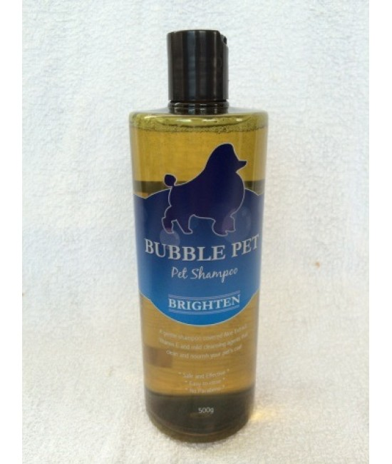 Bubble Pet Shampoo - Brighten 亮麗冲涼液 (500 g)